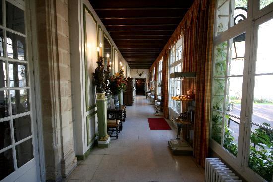 Domaine de Beauvois : Eingangsbereich zur Rezeption