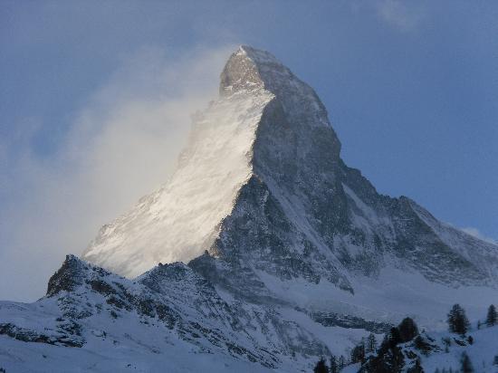 Parkhotel Beau Site: The Matterhorn from Beau Site
