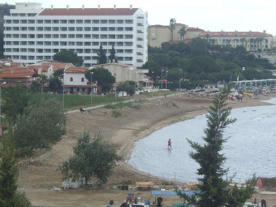 Grand Efe Hotel: A photo from teh way back from Ozdere