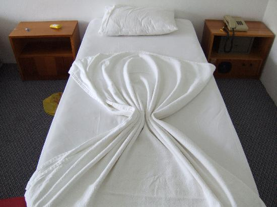 Grand Efe Hotel: Teh bed