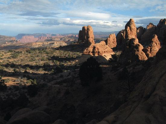 Utah: Shot looking east from the North Window in Arches National Park