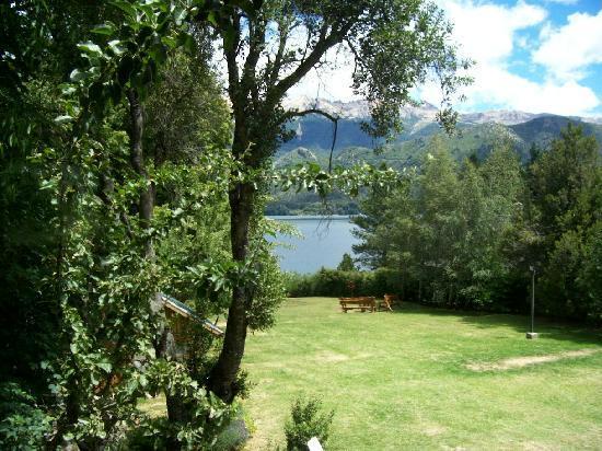 Lago Gutierrez Lodge: vista desde habitacion