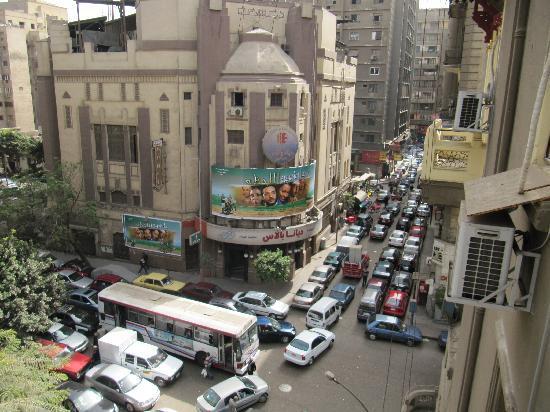Cairo Palace: Blick aus dem Fenster
