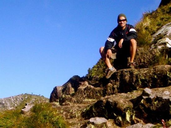 Mount Apo: at the top of mt. apo. 11,000+ ft. highest in the philippines. 1/3 of everest.