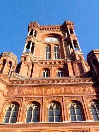 Berliner Rathaus Picture Of Schoneberg Rathaus Berlin