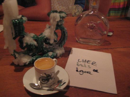 Chez Iris & Igor : Expresso
