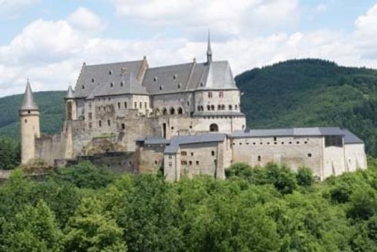 Kastil di Vianden, Ardennen