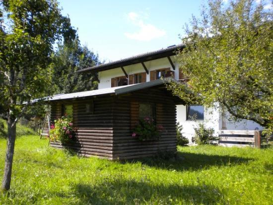 Garden shed with flower boxes picture of garmisch for Garden shed tripadvisor