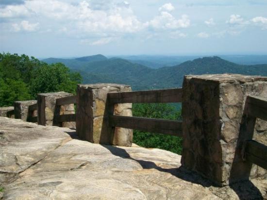 Black Rock Mountain State Park: Taken from Black Rock Overlook