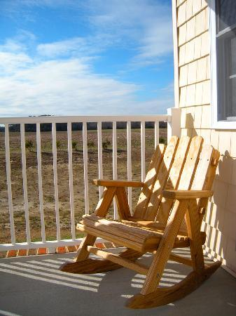 Shore Stay Suites: from the porch balcony