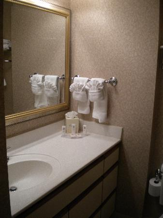 TownePlace Suites Atlanta Buckhead : towels well stocked