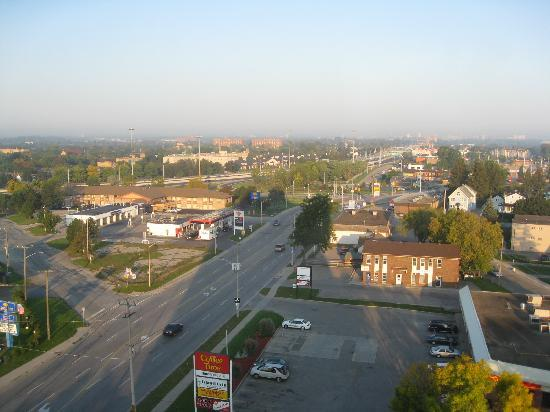 Kitchener, Canada: View from room