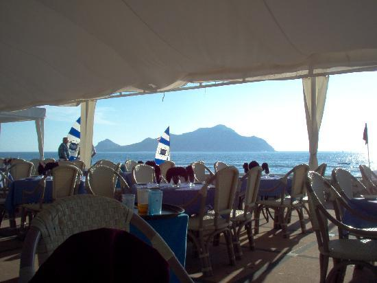 El Cid Granada Country Club: View at lunch