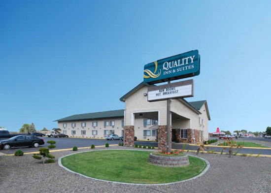 Quality Inn & Suites: hotel