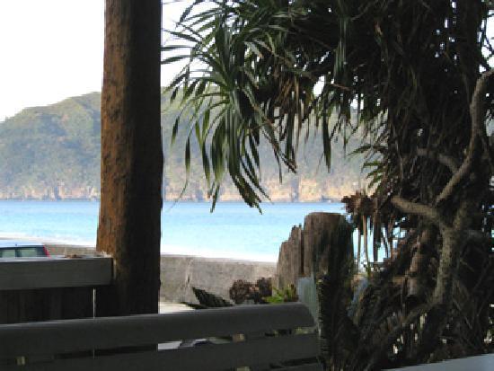 Sango Beach: テラス