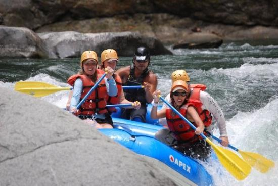 Santa Lucia, קוסטה ריקה: more rapids...