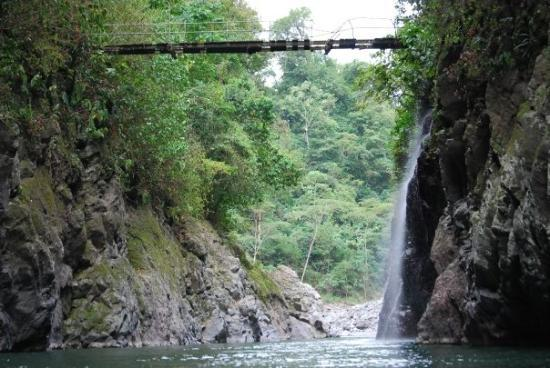 Santa Lucia, קוסטה ריקה: the gorge