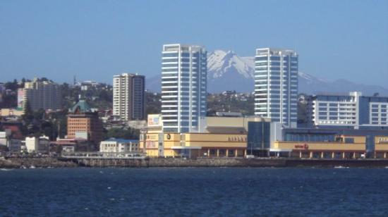 Volcan Osorno: ..el mall