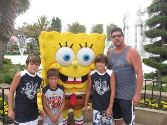 Santa Clara, Californien: SpongeBOB at Great America