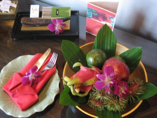 Rocky's Boutique Resort: Fruits