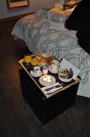 Relais Palazzo Taverna: Breakfast tray