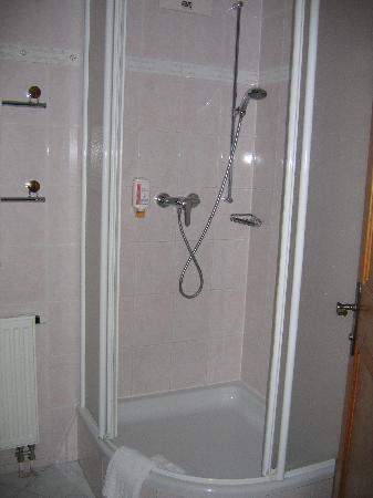 Kroneck Aschaber Hotel: Dusche