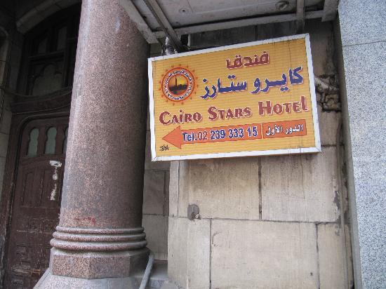 Cairo Stars Hotel: Eingang