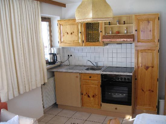 Residence Chalet Eberhoefer: Wohnküche unseres Apartment