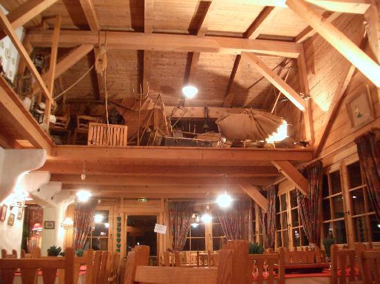 Chalet la Croix Blanche Hotel: zona ristorante