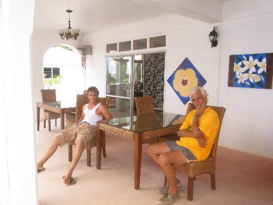 The Sovereign Residence: terrace