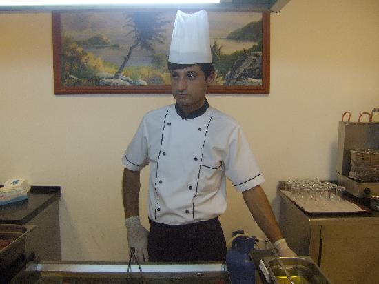 Grand Efe Hotel: Teh chef