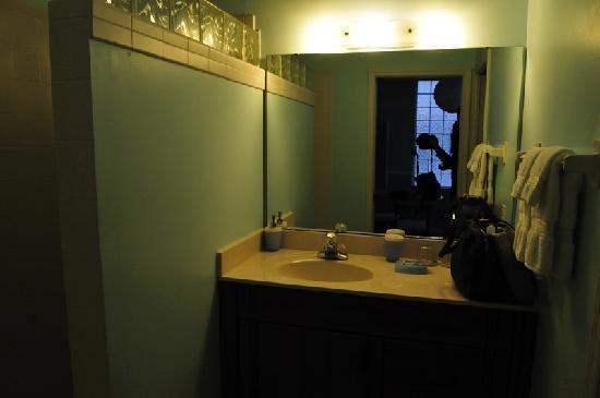 The White Orchid Inn and Spa: Camera con una vista