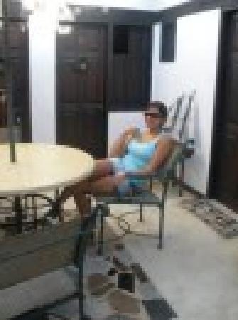 Posada Arrecife: patio de la posada