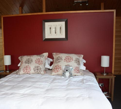 Astelia Lodge: Comfy bed