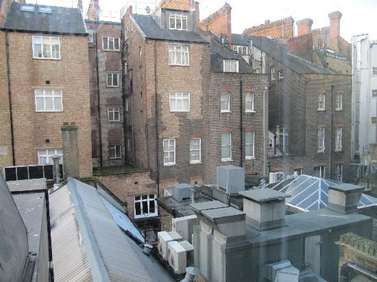 Seraphine London Kensington Gardens: view from hotel room