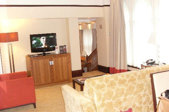 Leeds Marriott Hotel: suite