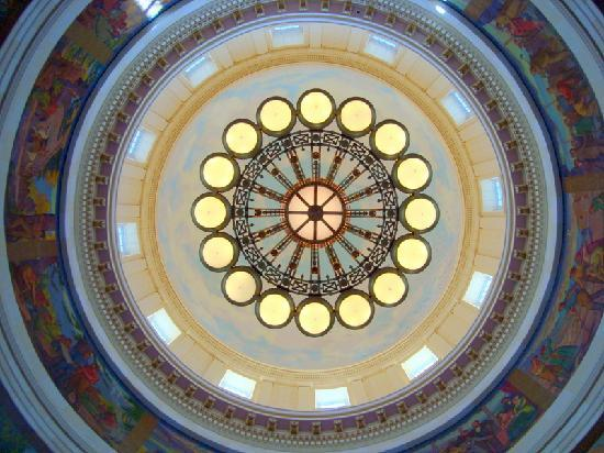 Utah State Capitol: 165-foot rotunda