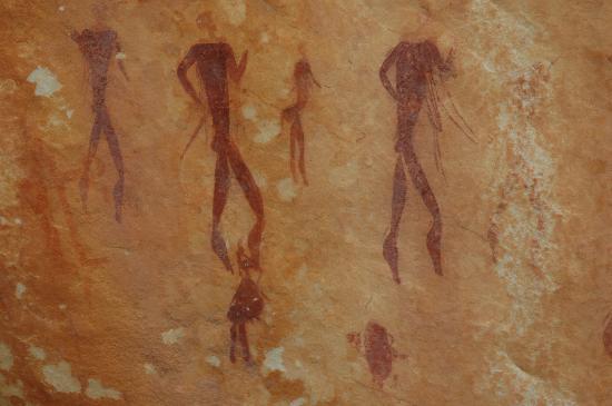 Kagga Kamma Nature Reserve : Bushman Paintings