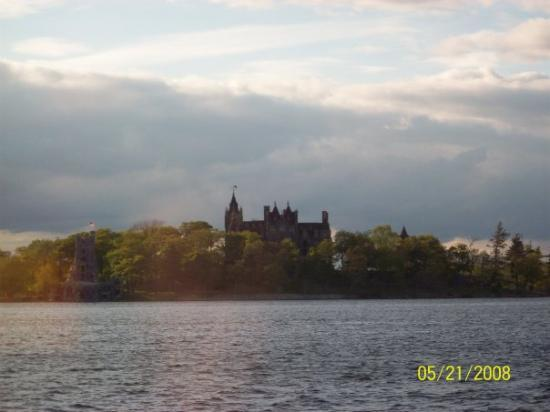 Boldt Castle and Yacht House: The Boldt Castle in 1000 Islands