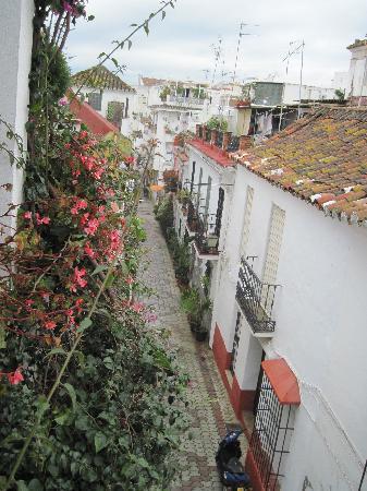 La Villa Marbella: Street view from roof top