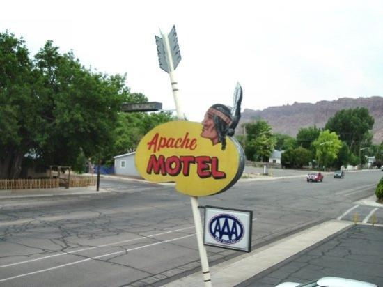 Apache Motel where we stayed at for 2 days. Also, we stayed in the room right next door to wher