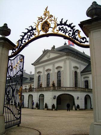 Братислава, Словакия: President's palace