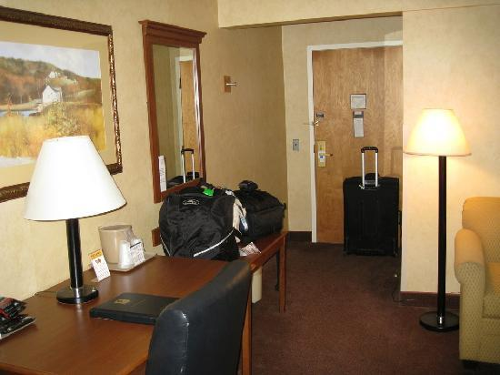 Comfort Inn Trolley Square : Desk area