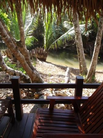MOONLIGHT Exotic Bay Resort : View from our River View bungalow