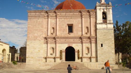 La iglesia de mitla