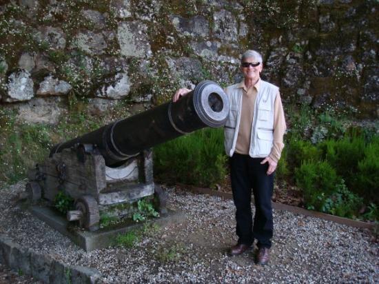 Bob at the Citadel in Vigo, Spain.