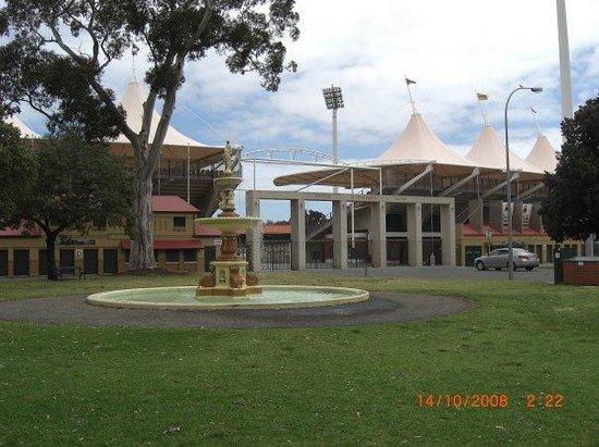 the adelaide oval, where england play in the ashes