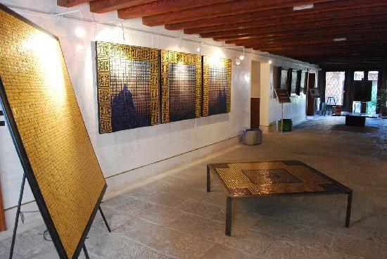 Domus Orsoni : la Sala mosaico al piano terra
