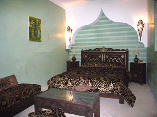 Riad l'Oiseau du Paradis: Chambre Zitoun