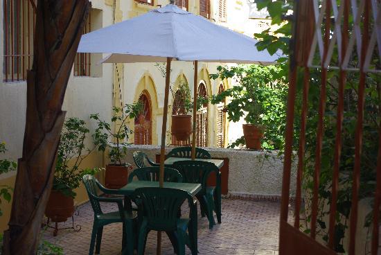 Dar Omar Khayam : La terrasse
